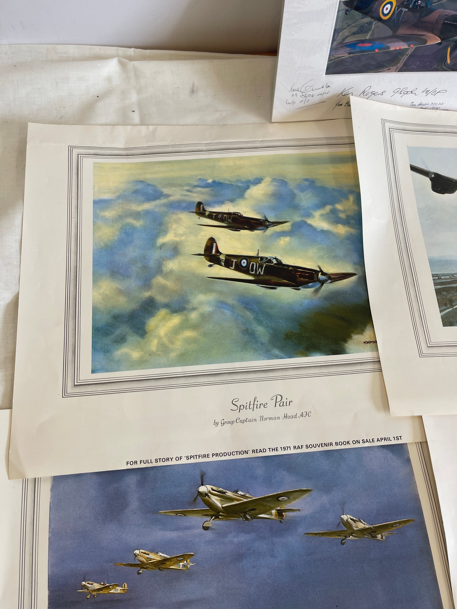 Selection of 5 Aircraft prints - Image 4 of 4