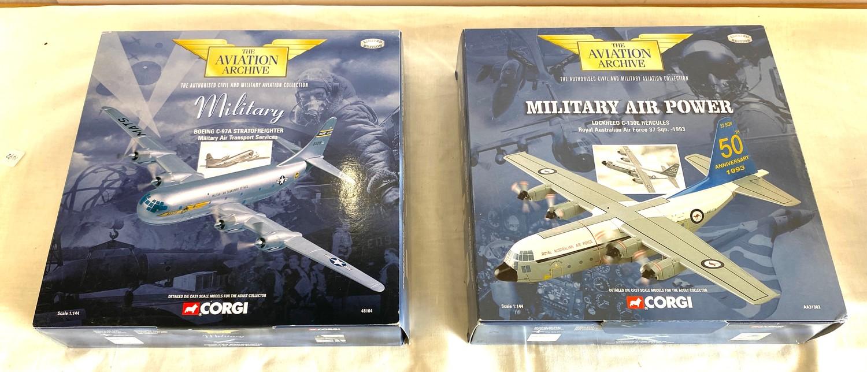 2 Boxed Corgi The Aviation Archive includes aa31303, 48104,
