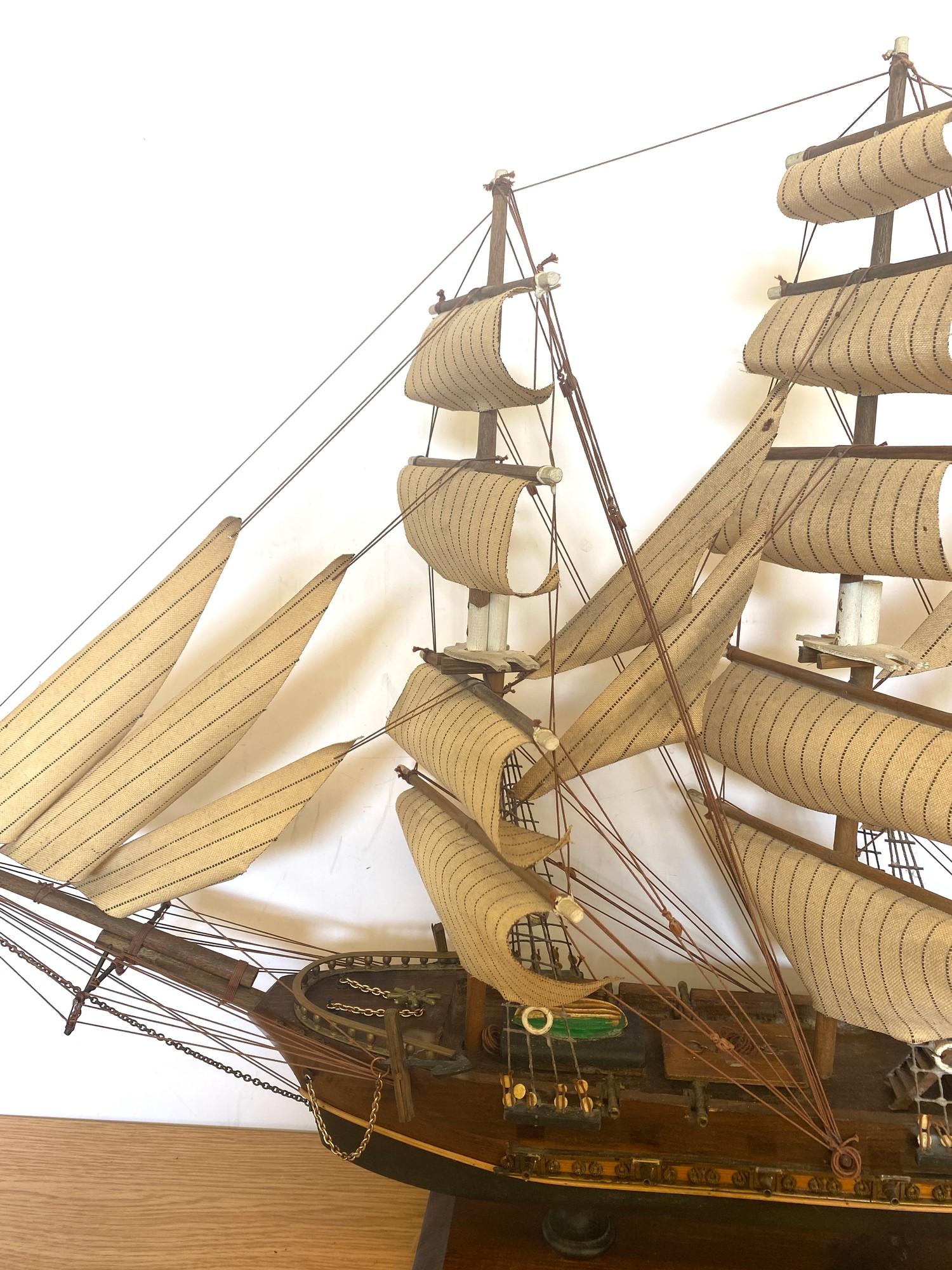 Model galleon Fragata siglo - Image 2 of 4
