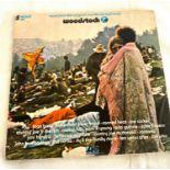 Woodstock vinyl LP Movie Album Santana, Hendrix, Triple LP Atlantic ATL 60 001
