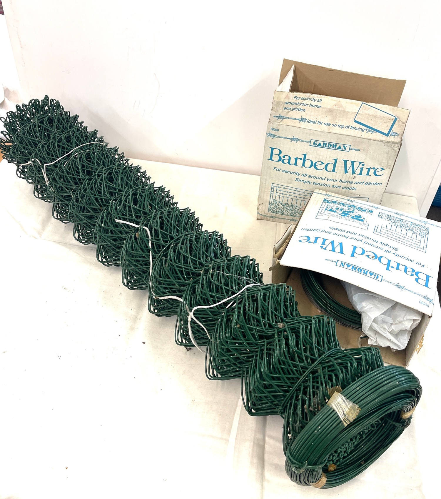Selection of garden wire