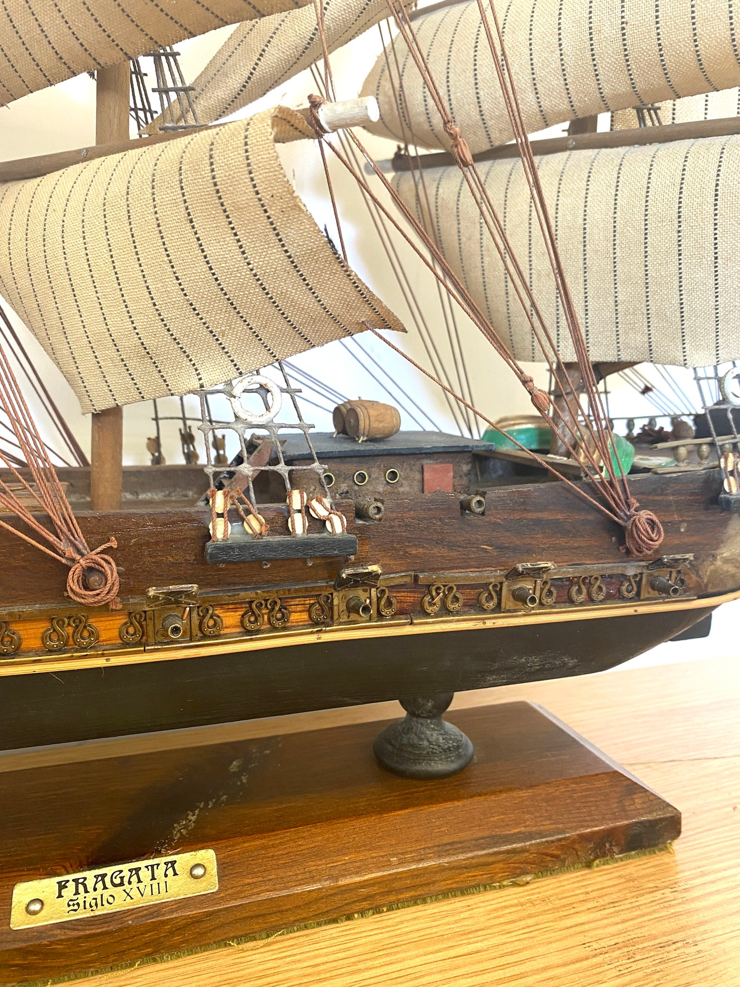 Model galleon Fragata siglo - Image 3 of 4