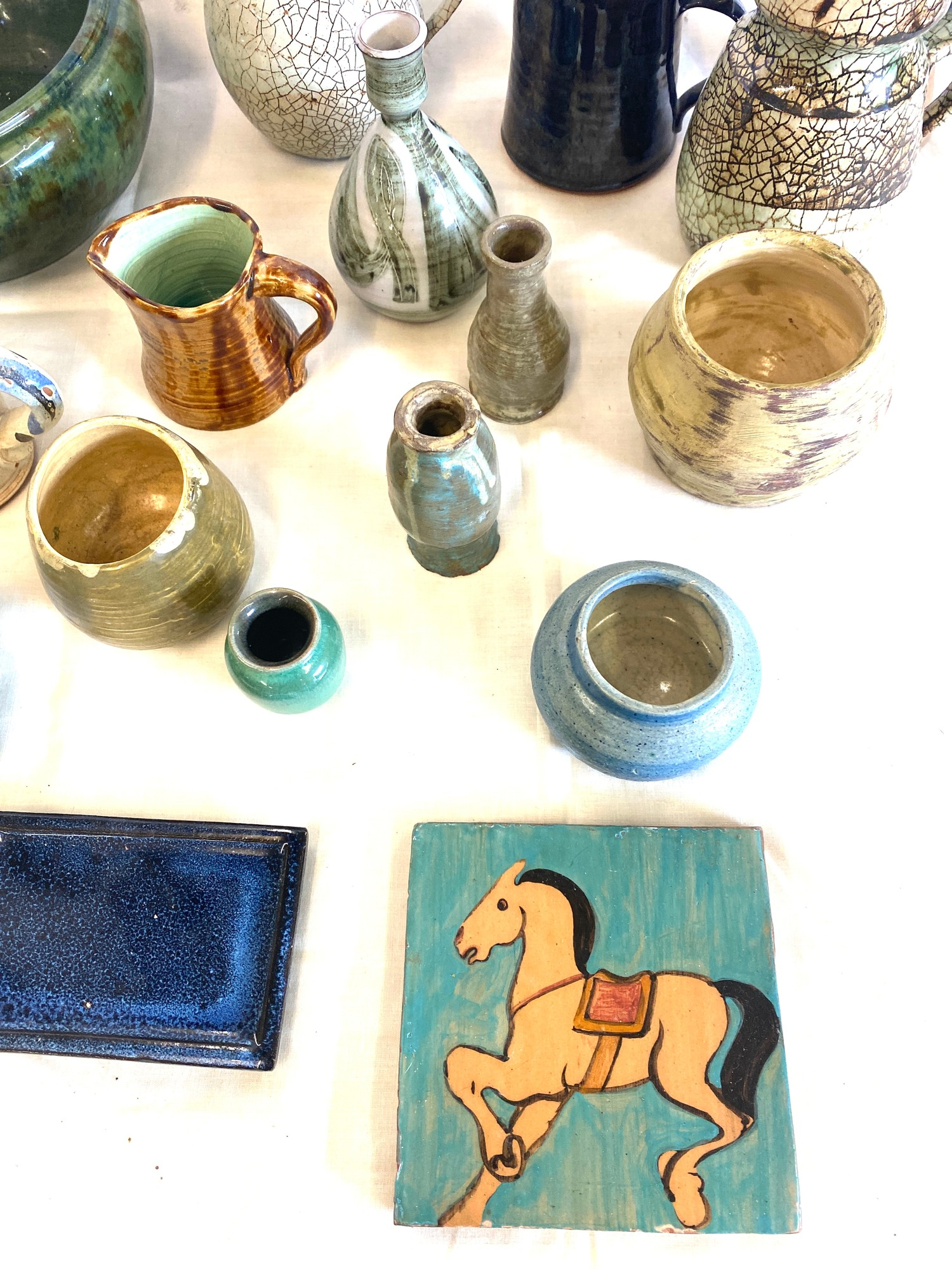 Large selection of studio pottery - Image 2 of 4