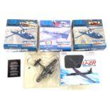 "Selection of 3 ""72 aviation"" boxed models includes, westland gazelle, Westland Gazelle HT.2, Dhc1"