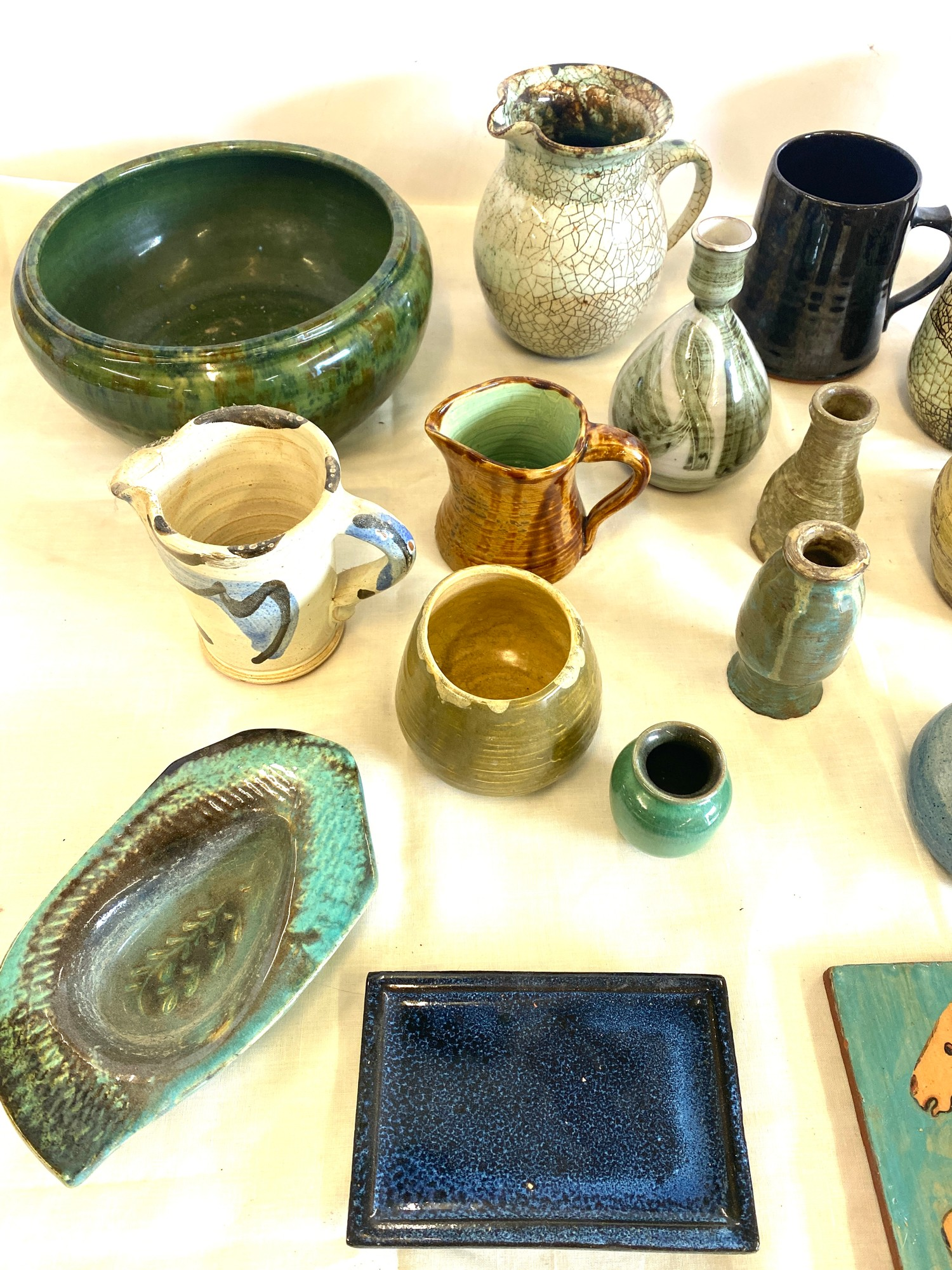 Large selection of studio pottery - Image 3 of 4