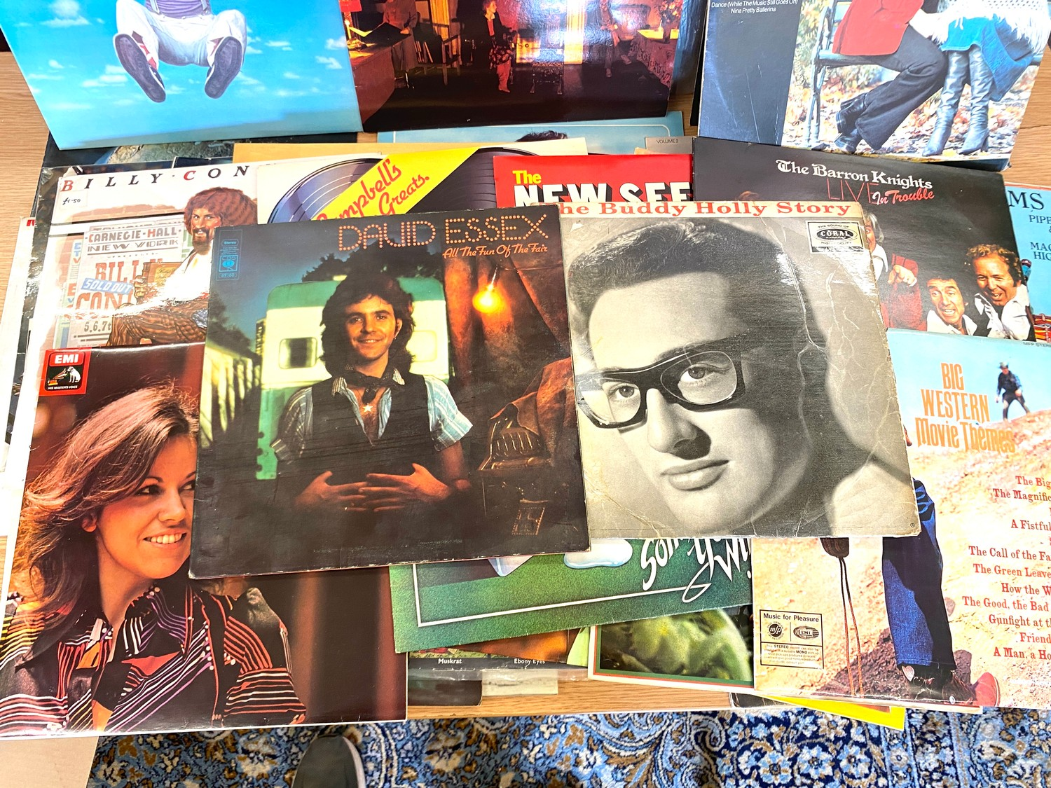 Selection of assorted records includes Elvis, Abba, Leo Sayer etc - Image 3 of 5