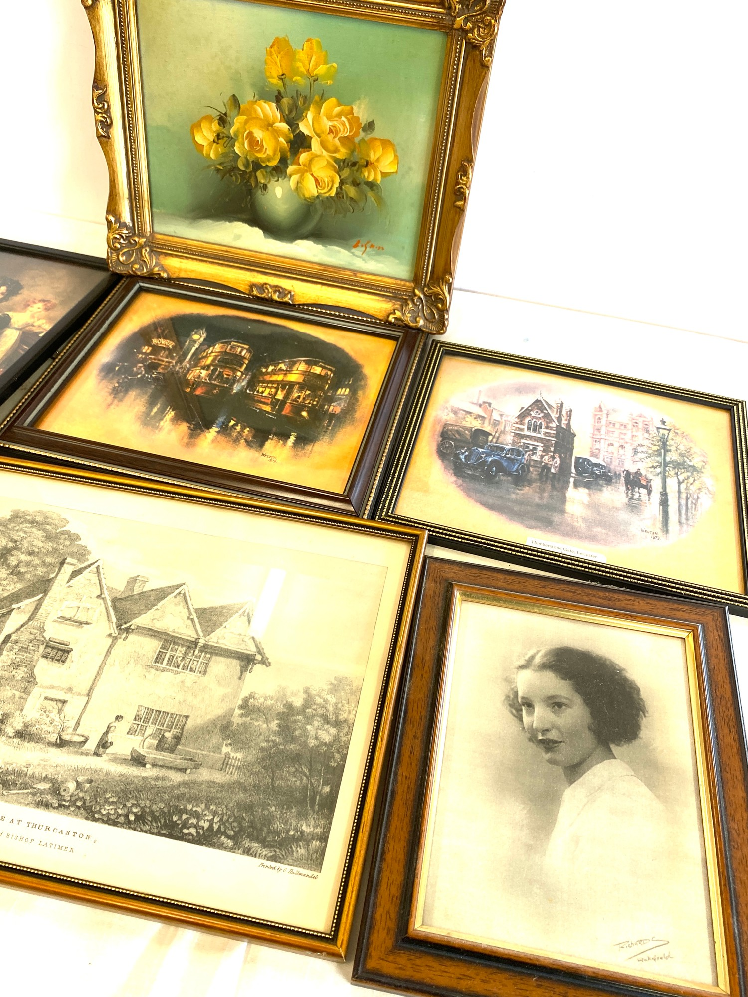 Selection of assorted framed pictures - Image 5 of 5