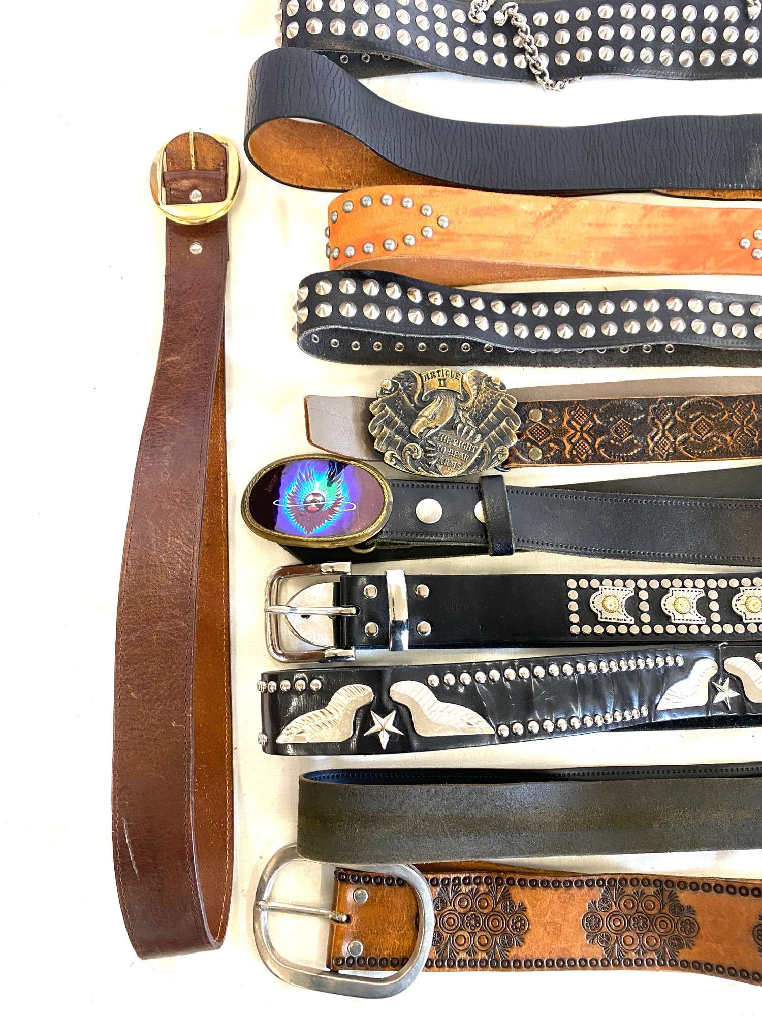 Large selection of assorted belts - Image 3 of 3