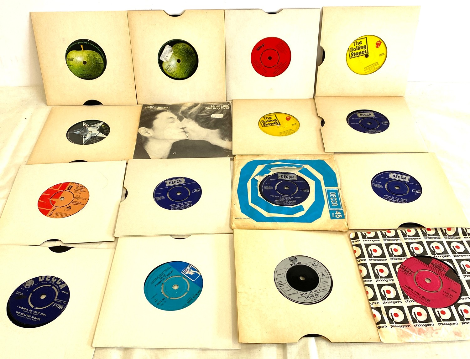 Selection of various 45's Lp's to include Rolling Stones etc - Image 4 of 5