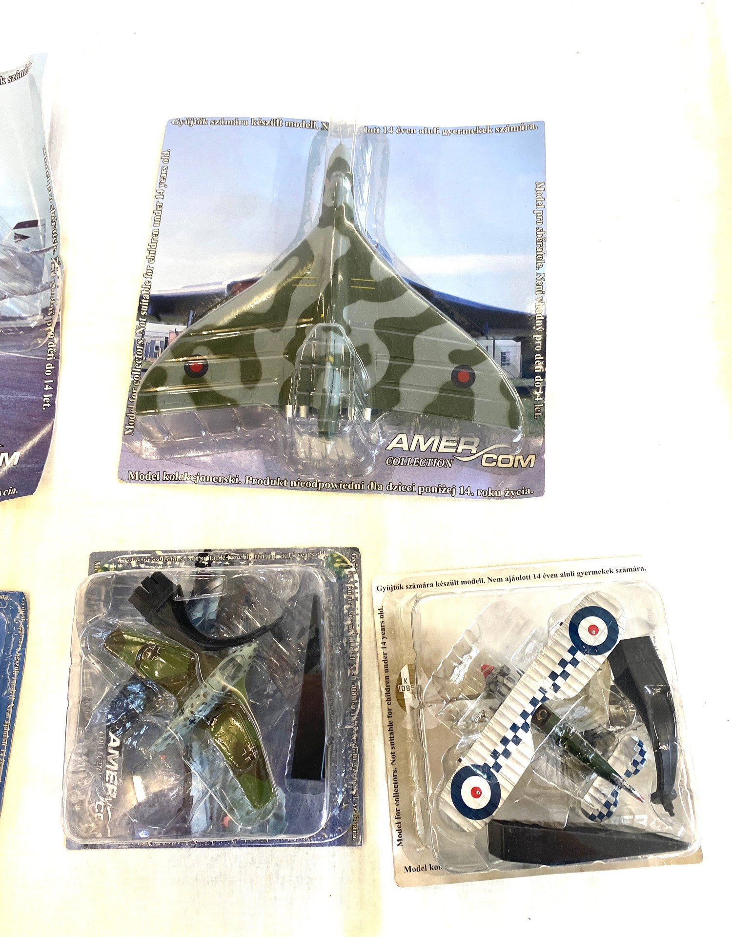 Selection of Boxed Amercom Air Craft models includes, North American p-51b, Vickers Valiant B Mk - Image 3 of 3