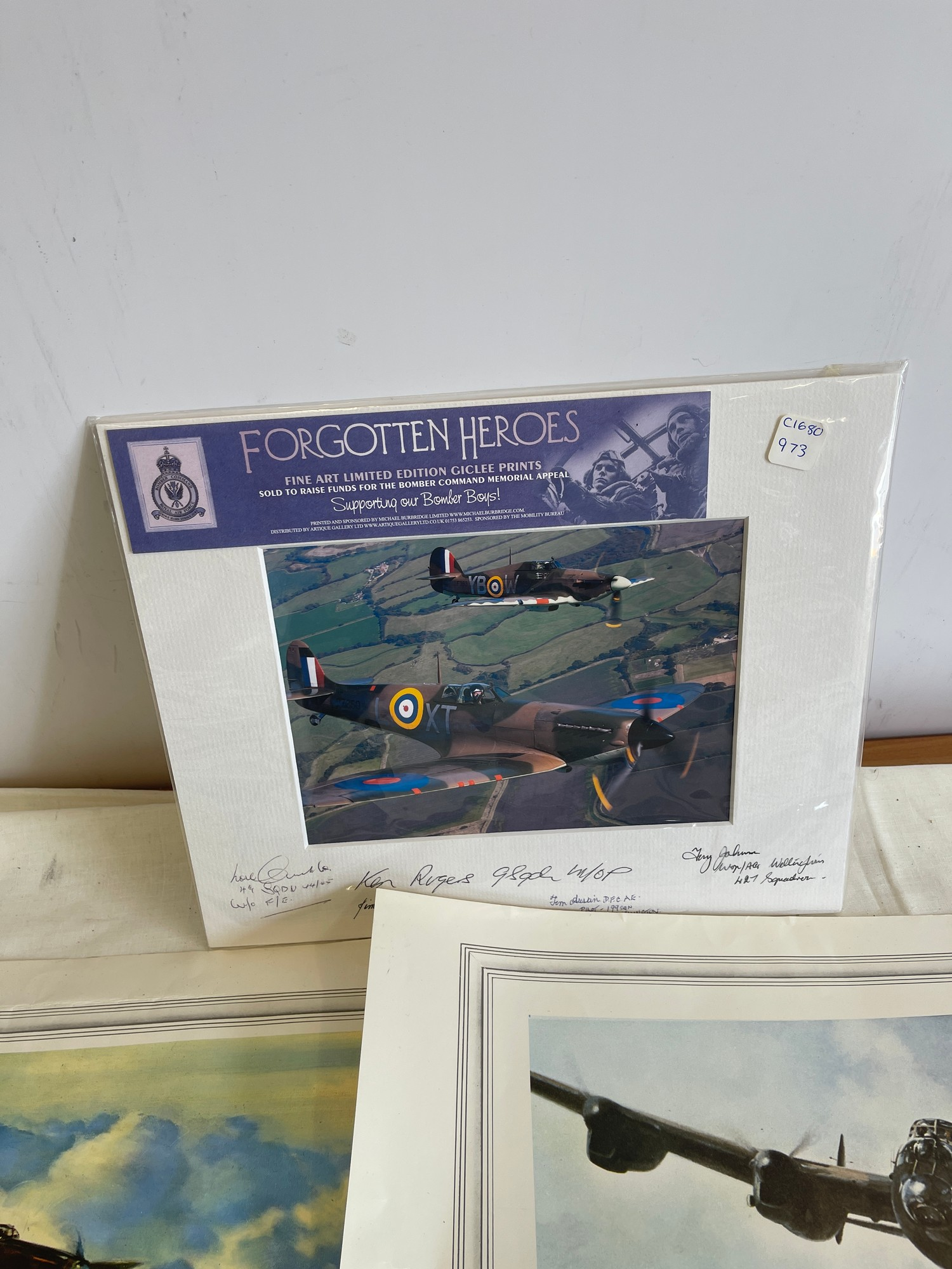 Selection of 5 Aircraft prints - Image 2 of 4