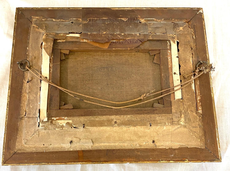 2 Small vintage gilt framed pictures - Image 2 of 4