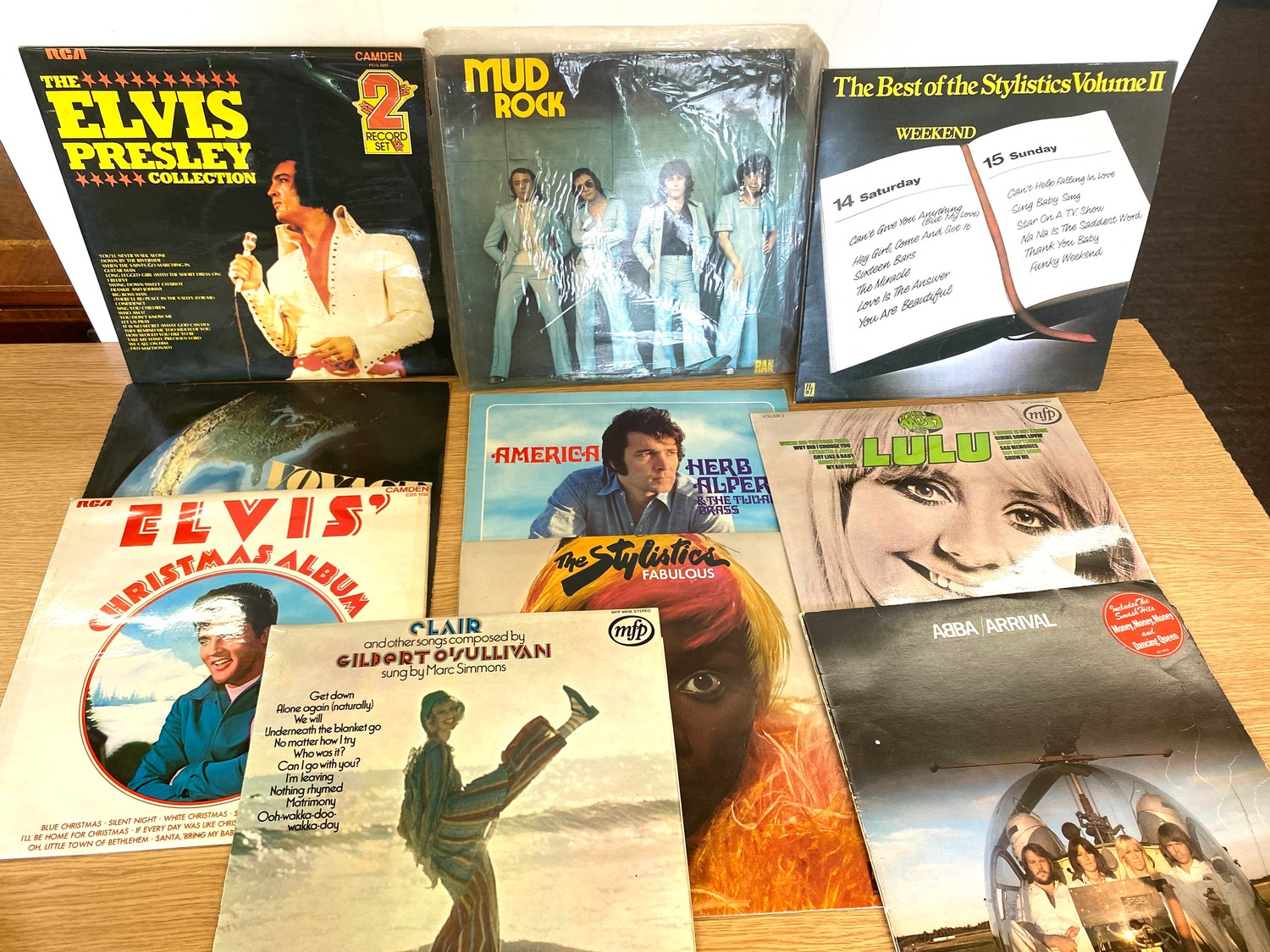 Selection of assorted records includes Elvis, Abba, Leo Sayer etc - Image 5 of 5