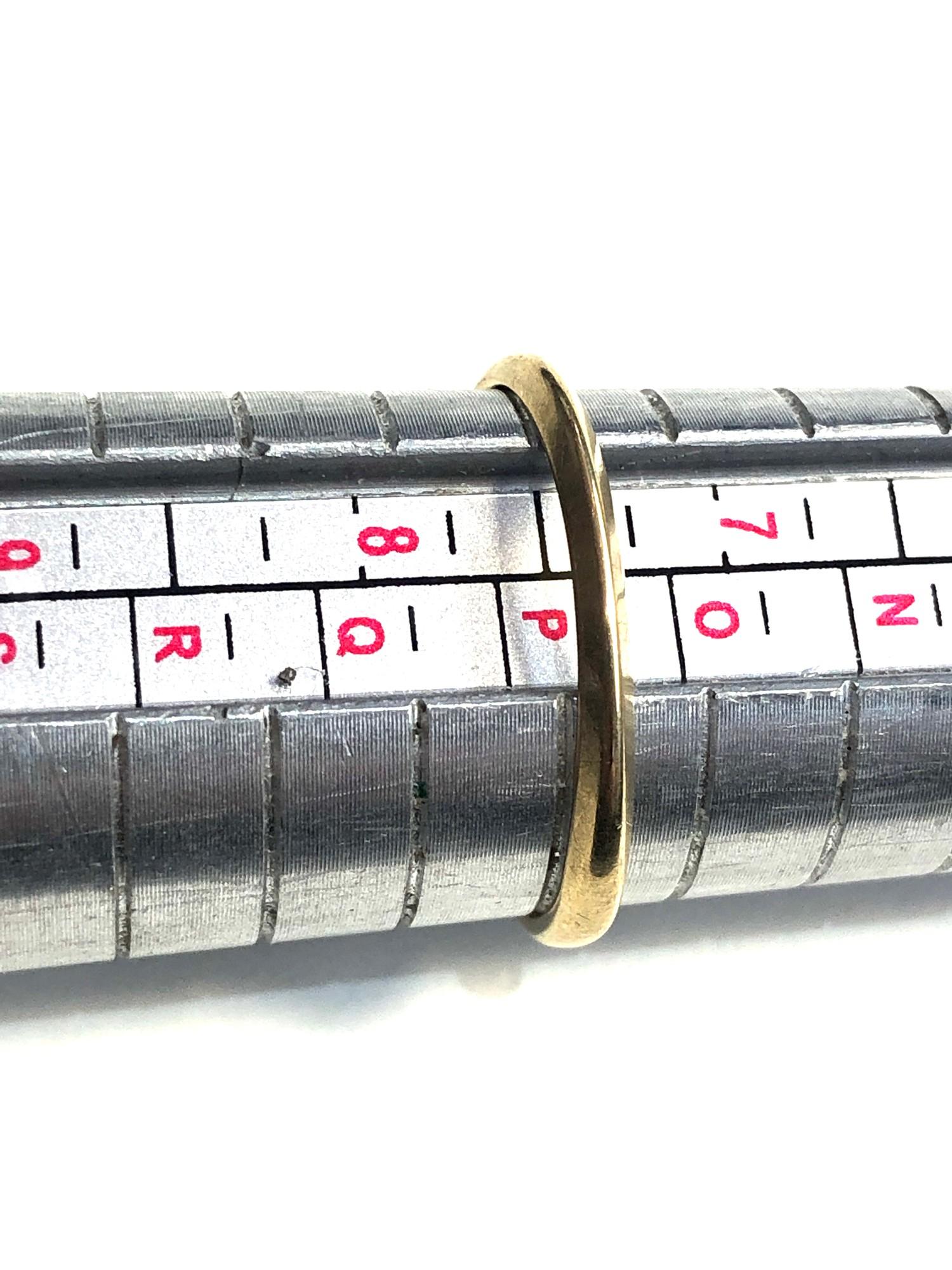Antique 18ct & platinum diamond trilogy ring weight 2.8g - Image 4 of 4