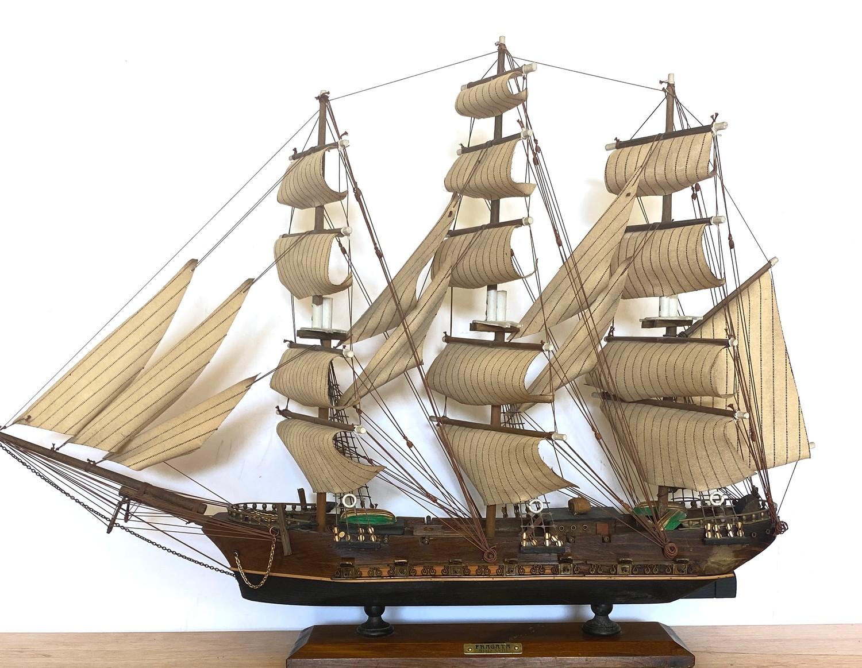 Model galleon Fragata siglo - Image 4 of 4