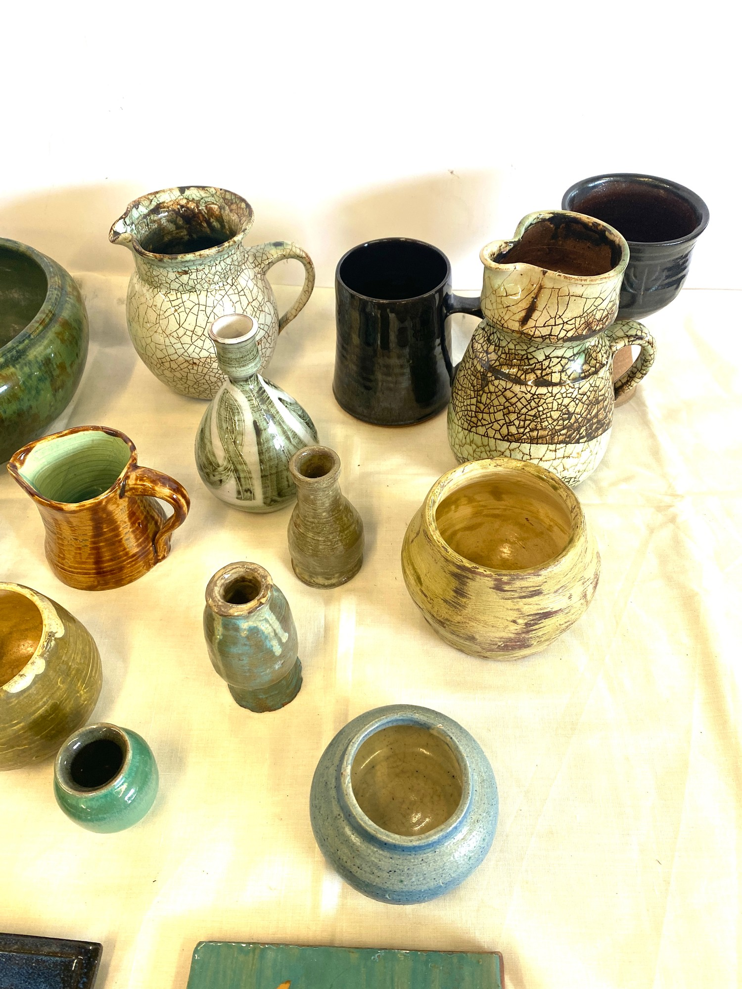 Large selection of studio pottery - Image 4 of 4