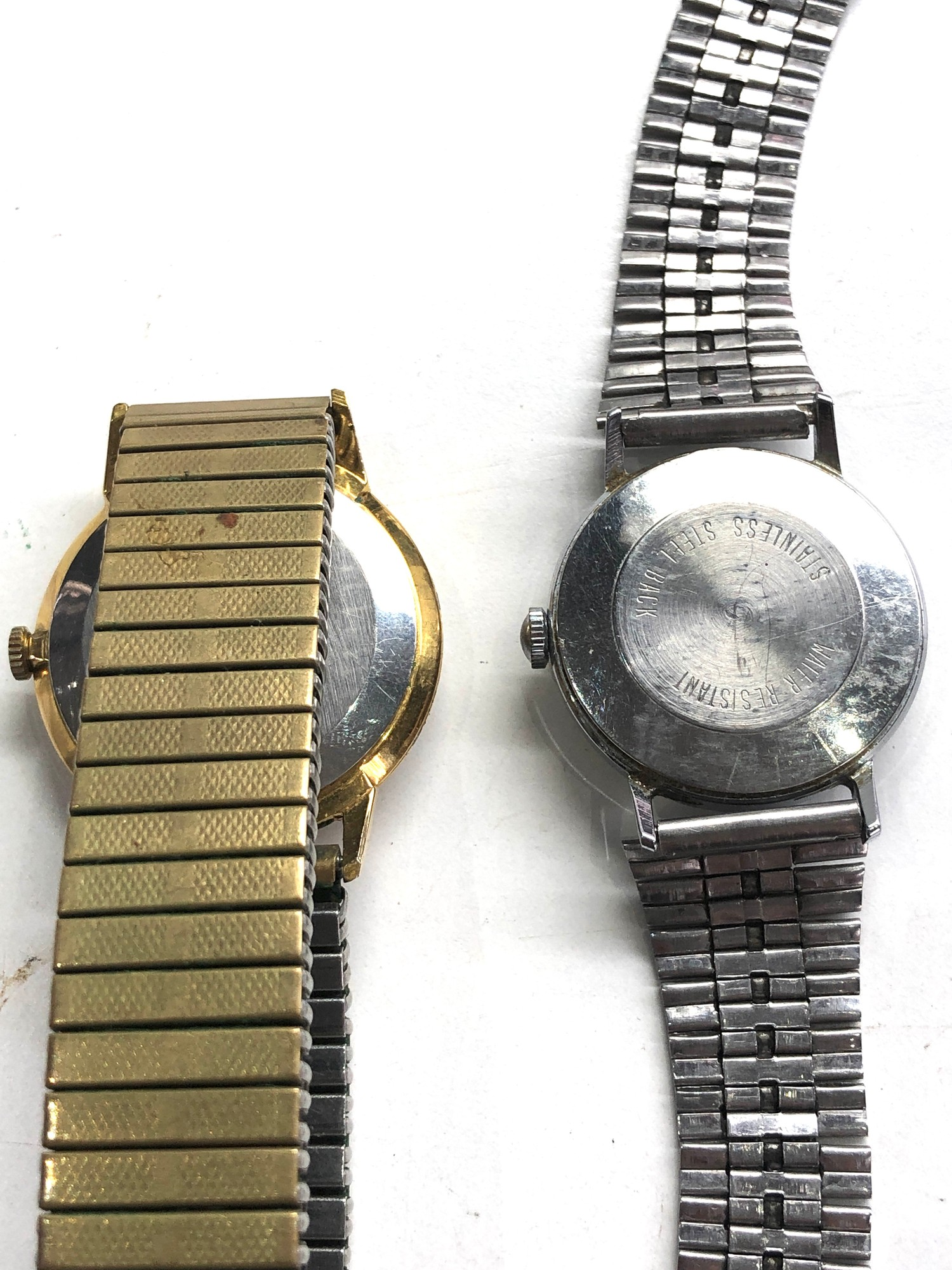 Selection of 4 vintage gents wristwatches includes ingersoll timex ruhla and michael roberts - Image 3 of 5