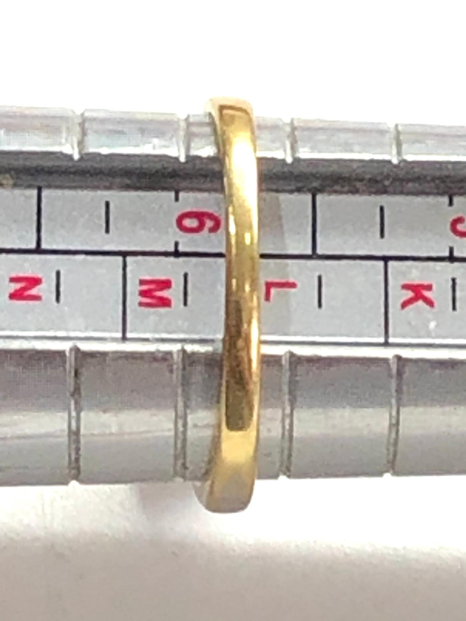 Fine 18ct gold diamond ring 0.50ct - Image 5 of 6