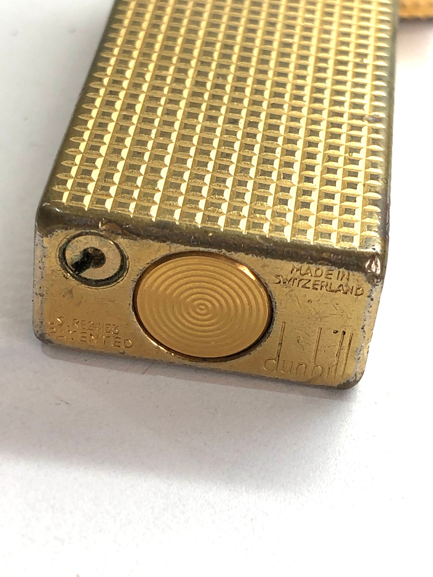 Vintage Dunhill cigarette lighter used condition - Image 3 of 3