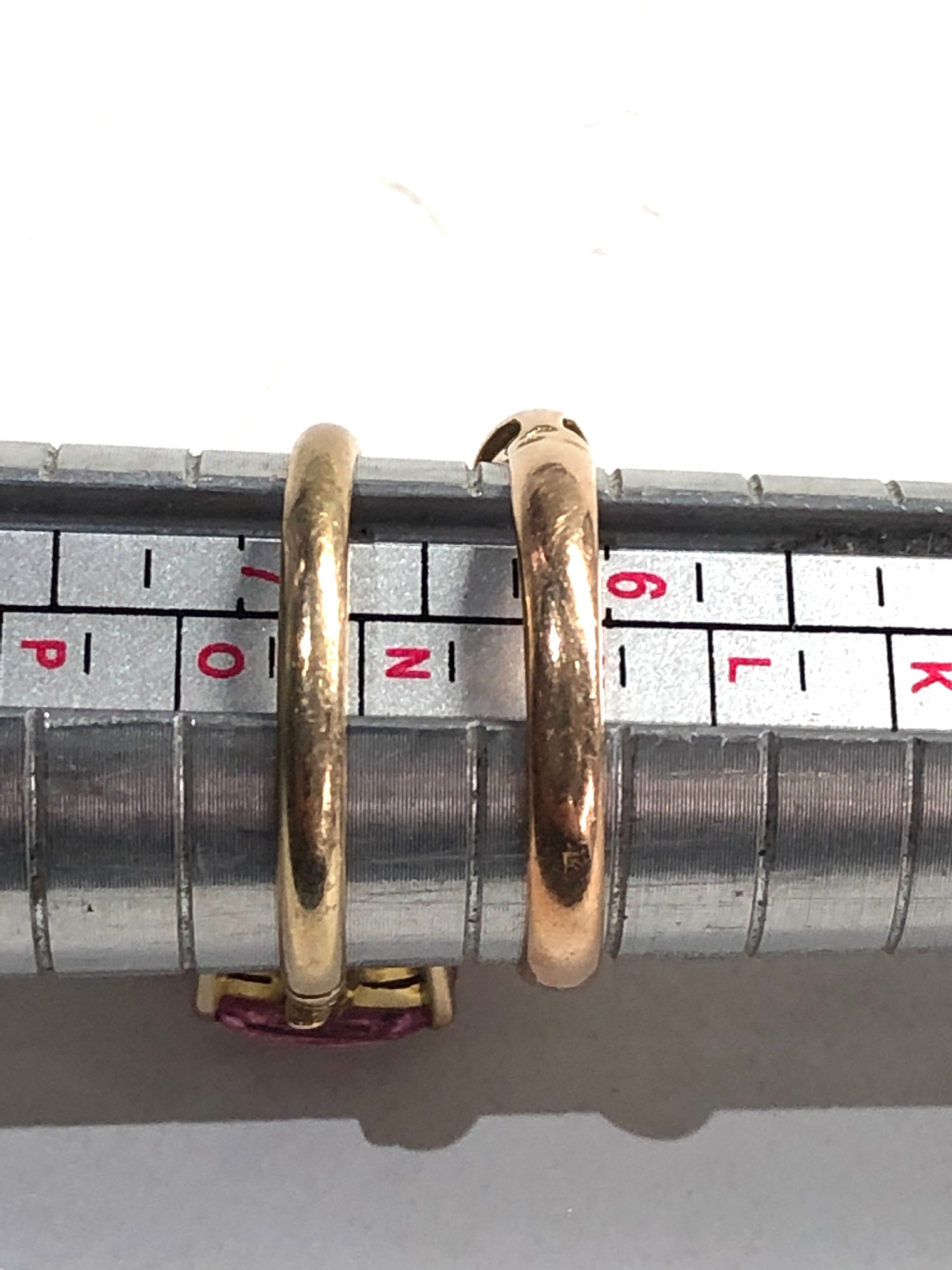 2 x 9ct Gold dress rings 4.2g - Image 3 of 3