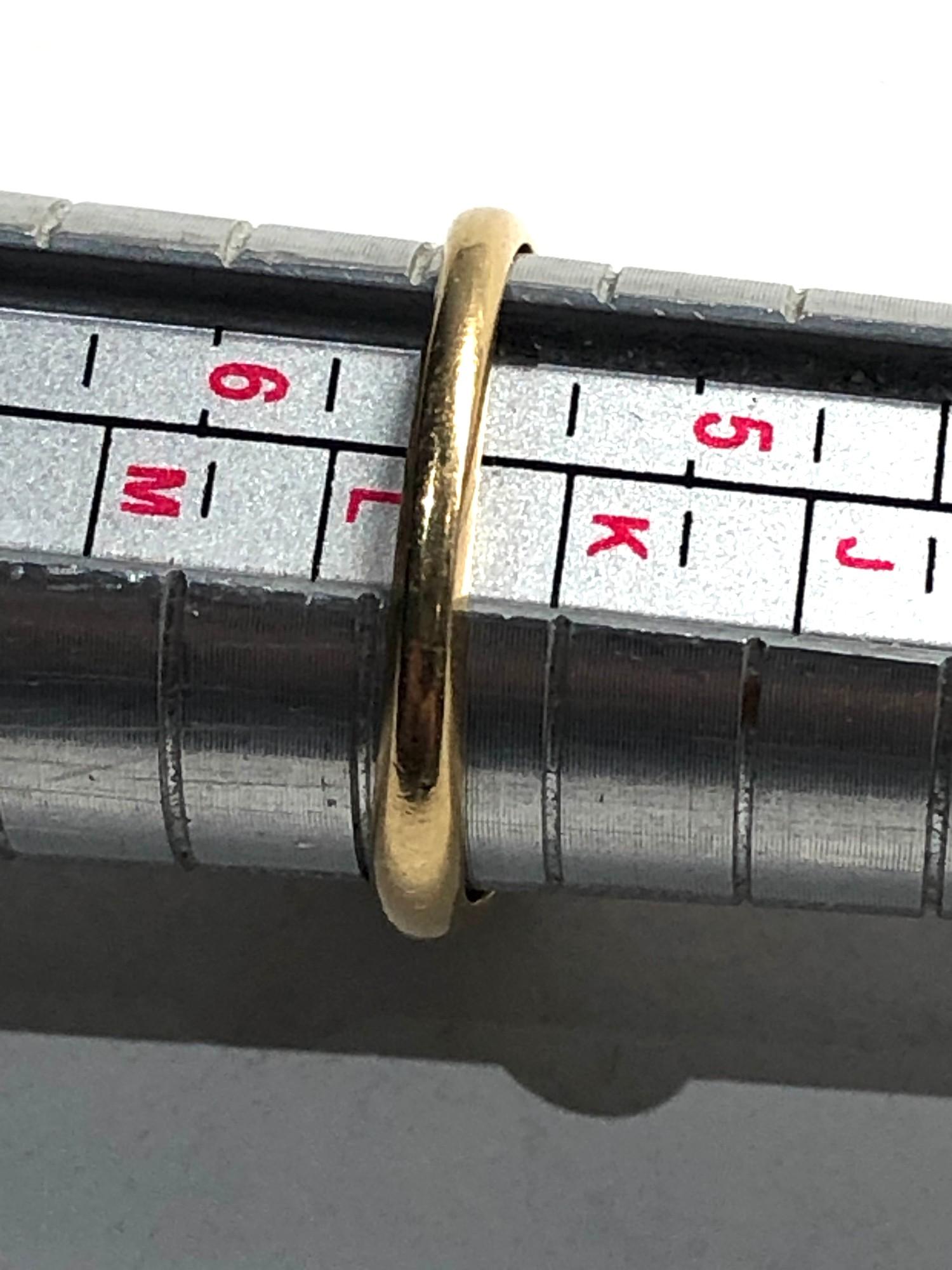 18ct vintage diamond five stone ring 2.4g - Image 3 of 3