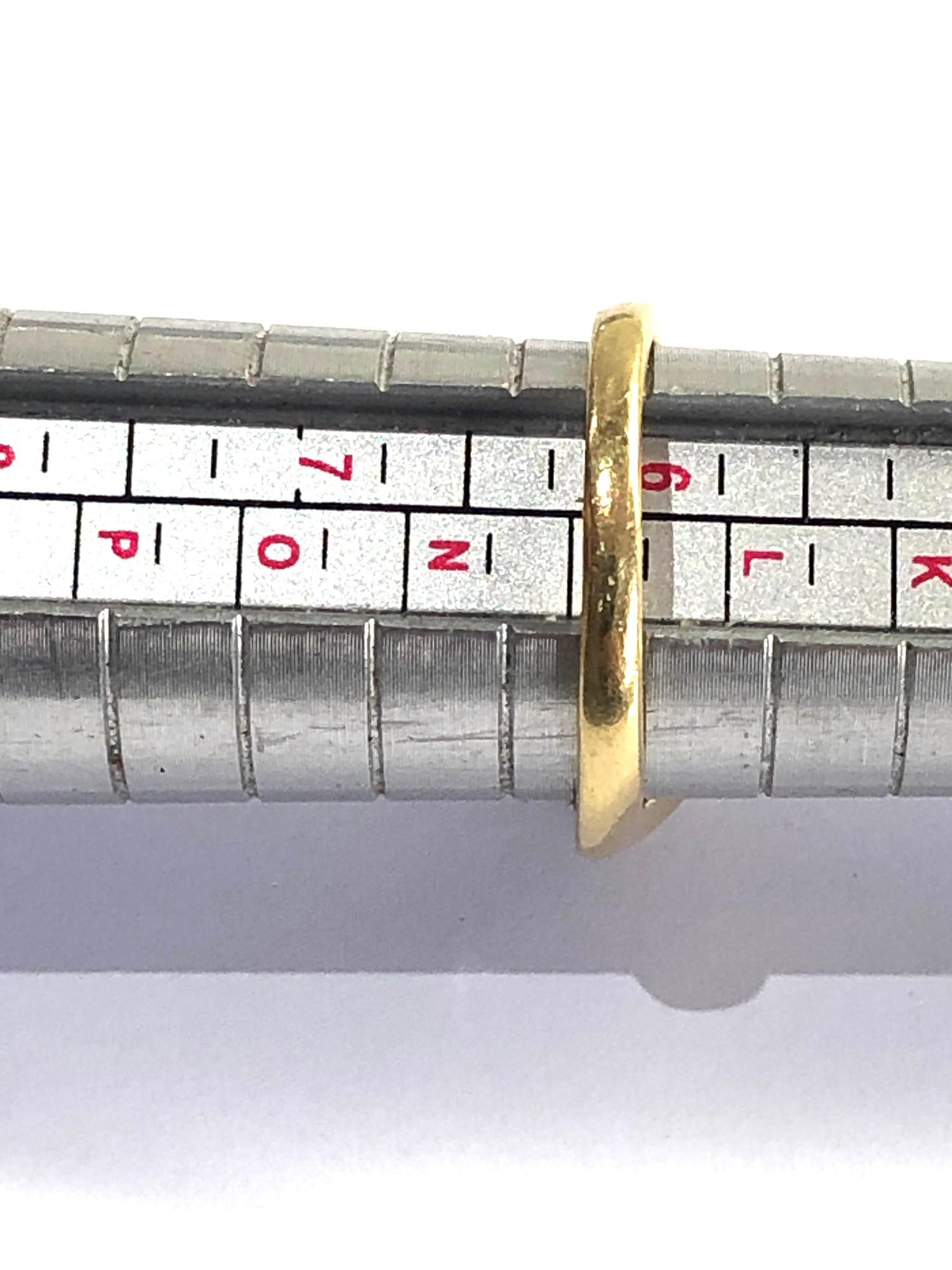 18ct gold diamond ring 0.25ct diamonds weight 4.3g - Image 4 of 4