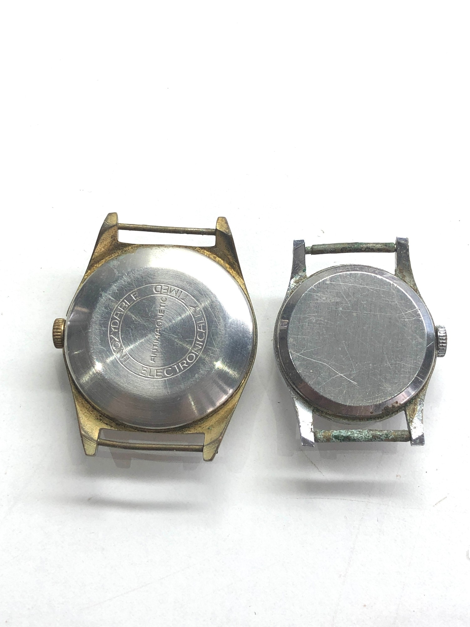 Selection of 4 vintage gents wristwatches includes ingersoll timex ruhla and michael roberts - Image 5 of 5