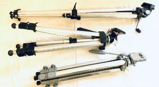 3 Tripod camera stands
