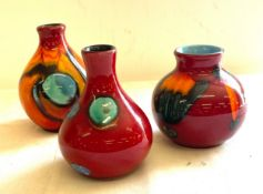 Selection of Poole pottery