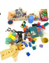 Selection of vintage toys etc