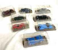 Selection of cased Brumm small collectors cars