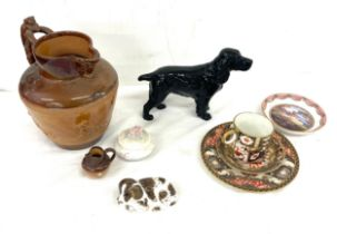 Selection of miscellaneous named pottery to include Royal Doulton, Royal Worcester, Crown Derby,