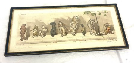 Dirty dogs of Paris printed by O'klein, signed in right corner approximate measurements: Length 20