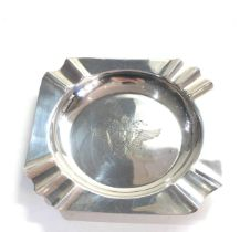 Sterling silver ashtray 65g