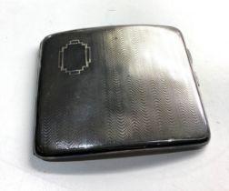 silver cigarette case 116g