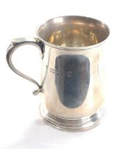 London silver mug weight 143g engraved imogen