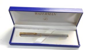 18ct gold nib waterman fountain pen