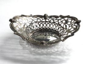 Vintage silver sweet dish weight 46g