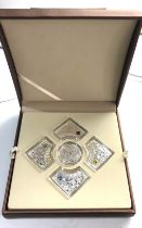 boxed skarbic mennicy polskiej The collection includes 5 silver Ag 925. issued by the Assay Office