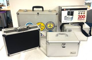Various X Case CD boxes