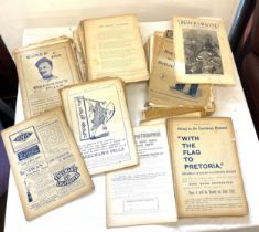 Selection of antique Black and White budget magazines