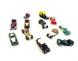 Selection vintage Matchbox Lesney Diecast cars