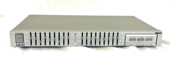 Akai EA-A22 graphic equalizer, untested