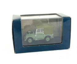 "Original boxed Land Rover Series 1 80"" (Hue 166)"