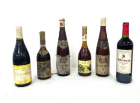 Selection vintage and later wines, all 6 bottles are sealed