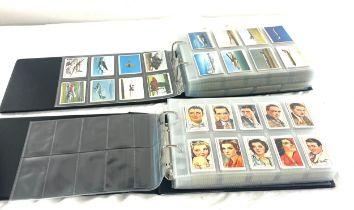 Large selection vintage cigarette cards