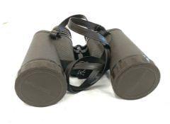 Cased Eschenbach 10x50 binoculars