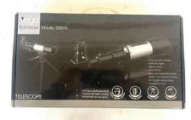New in box vega platinum visual series telescope