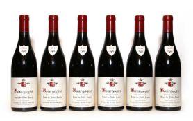 Bourgogne, Cuvee de Noble Souche, Domaine Denis Mortet, 2014, six bottles (boxed)