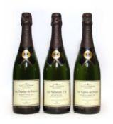 Moet & Chandon, Epernay, La Trilogie des Grand Crus, three bottles in total (OWC)